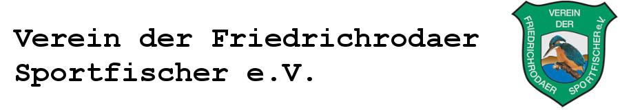 Verein der Friedrichrodaer Sportfischer e.V.